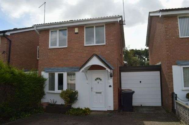 2 Bedrooms Link Detached House for sale in Wilford Avenue, Wakes Meadow, Northampton NN3 9UQ