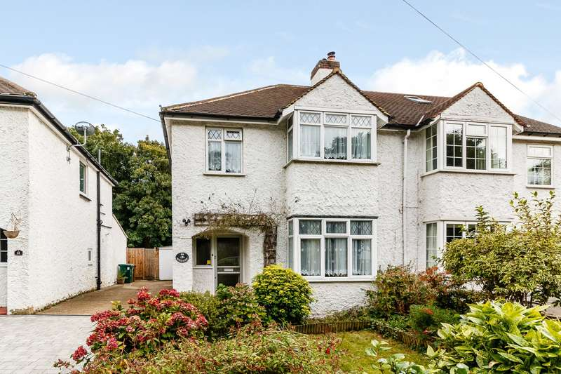 3 Bedrooms Semi Detached House for sale in Lower Sunbury