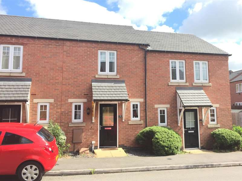 2 Bedrooms Town House for sale in Merton Close, Church Gresley, Swadlincote