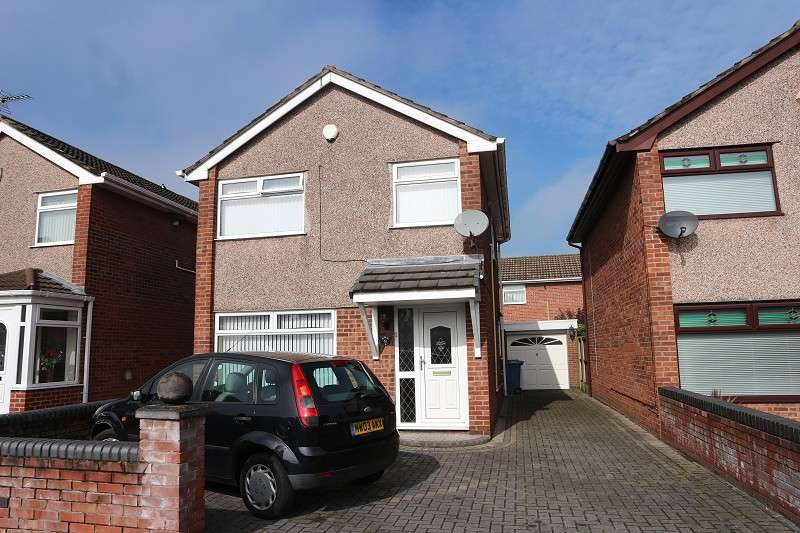 3 Bedrooms Detached House for sale in Gorsewood Grove, Liverpool, Merseyside. L25 2QL