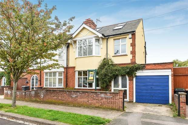 4 Bedrooms Semi Detached House for sale in Harvey Road, Bedford
