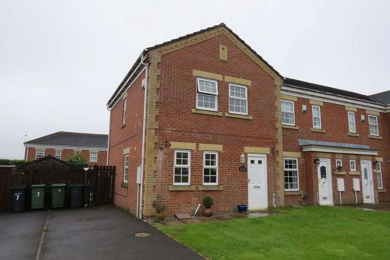 3 Bedrooms End Of Terrace House for sale in Cheltenham Court, Orchid Meadows, Ashington