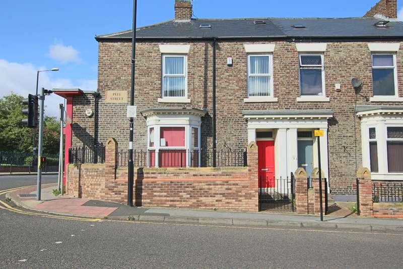 4 Bedrooms Terraced House for rent in Peel Street, Sunderland, SR2 8ED
