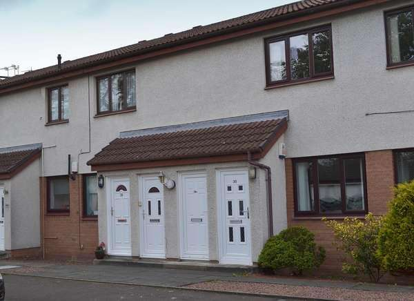 2 Bedrooms Flat for sale in 28A Rugby Road, Kilmarnock, KA1 2DP