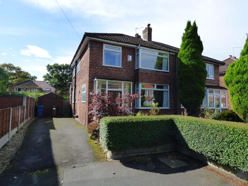3 Bedrooms Semi Detached House for sale in Grendale Avenue, Hazel Grove, Stockport