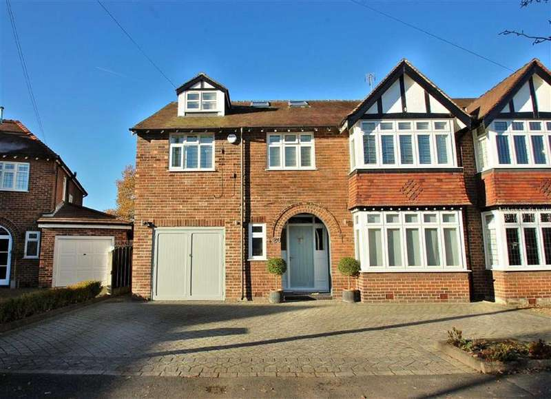 6 Bedrooms Semi Detached House for sale in Oak Drive, Bramhall, Cheshire