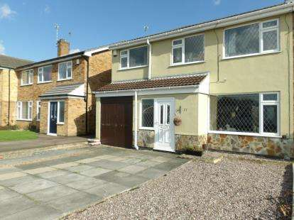 5 Bedrooms Semi Detached House for sale in Parkstone Road, Syston, Leicester, Leicestershire