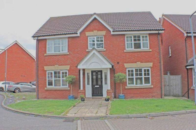 4 Bedrooms Detached House for sale in Hoveton Way, Oakwood Gate, Chigwell IG6