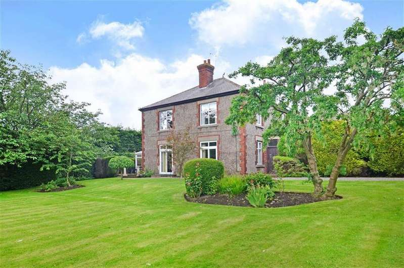 4 Bedrooms Detached House for sale in Whitethorns House, Dyche Lane, Coal Aston, Derbyshire, S18