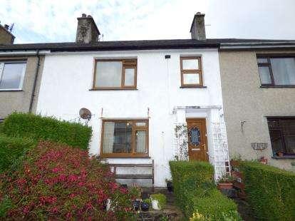 4 Bedrooms Terraced House for sale in Ty'n Rhos, Criccieth, Gwynedd, LL52