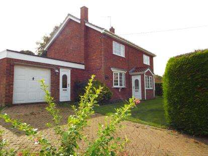 4 Bedrooms Detached House for sale in Helhoughton, Fakenham, Norfolk