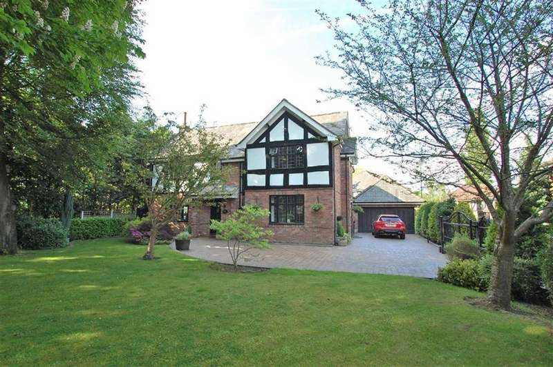 4 Bedrooms Detached House for sale in Bramhall Park Grove, Bramhall, Cheshire
