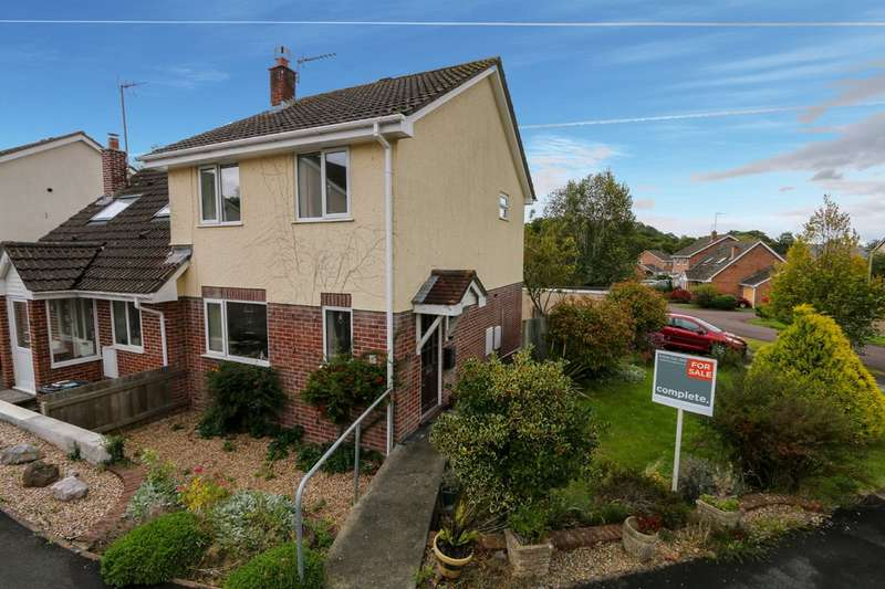 3 Bedrooms Semi Detached House for sale in Kiln Close, Bovey Tracey