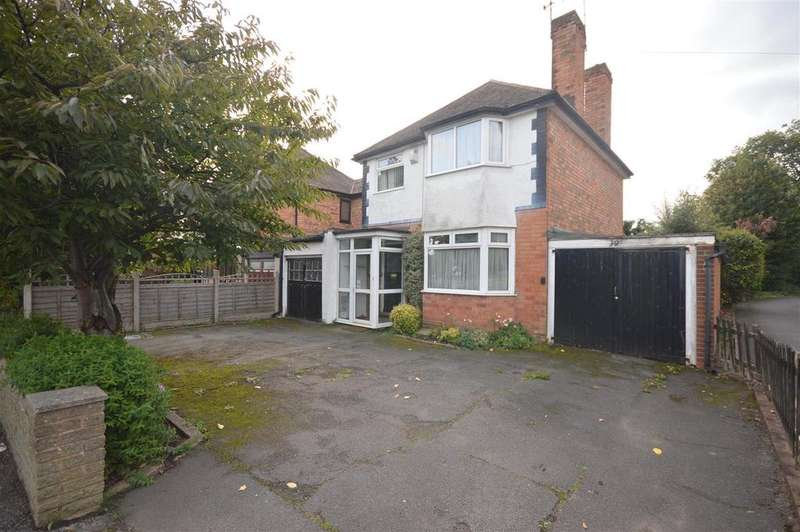 3 Bedrooms Detached House for sale in Elmdon Road, Marston Green, Birmingham
