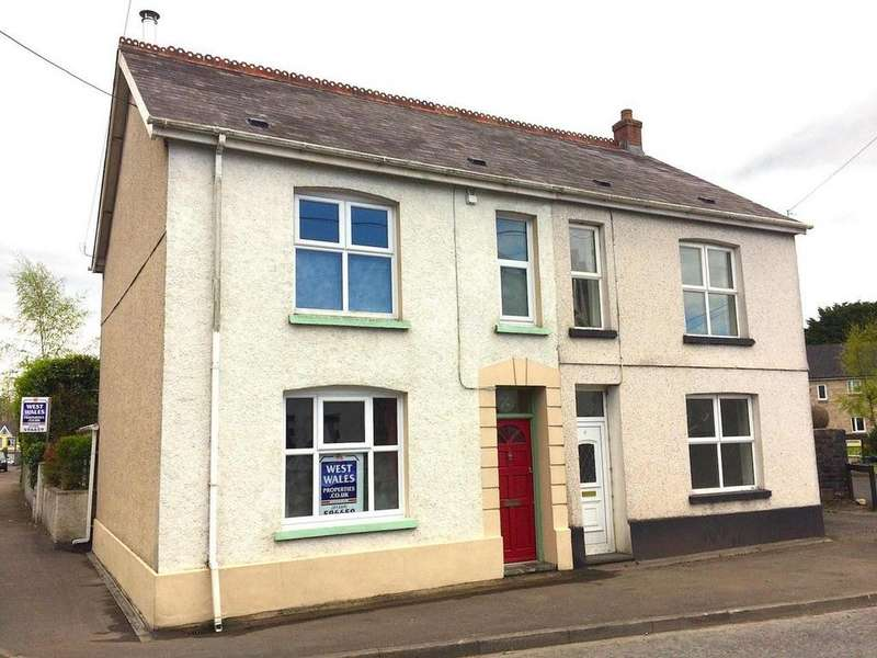 3 Bedrooms Semi Detached House for sale in Llandybie