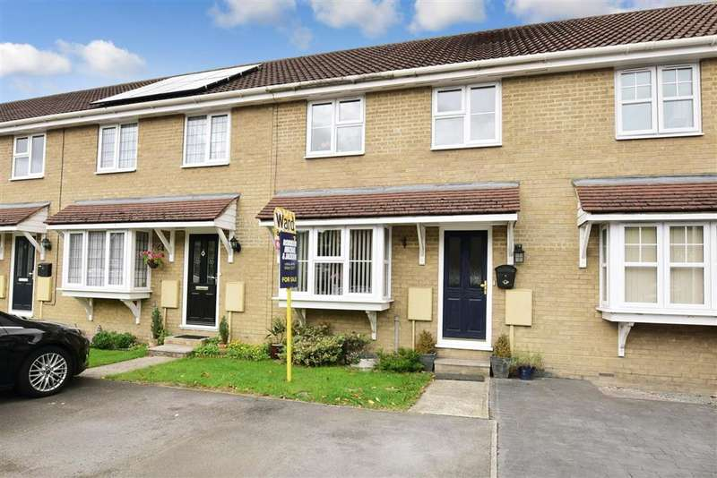 3 Bedrooms Terraced House for sale in Cranmere Court, Strood, Rochester, Kent