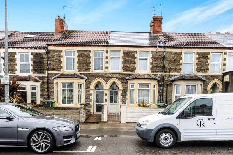 2 Bedrooms Terraced House for sale in Pantbach Road, Cardiff