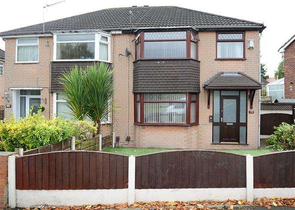 3 Bedrooms Semi Detached House for sale in 118 Ferry Road, Irlam M44 6DN