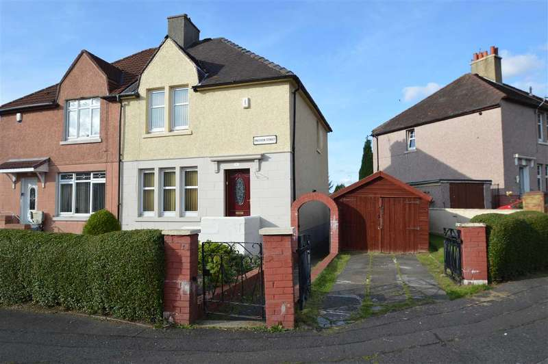 3 Bedrooms Semi Detached House for sale in Sneddon Street, Hamilton