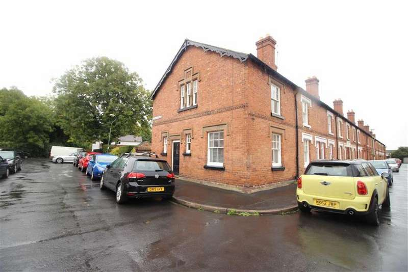 2 Bedrooms End Of Terrace House for sale in Montague Place, Belle Vue, Shrewsbury
