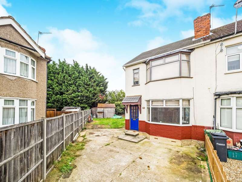 3 Bedrooms Semi Detached House for sale in Cedar Avenue, Waltham Cross, Hertfordshire EN8 8AU