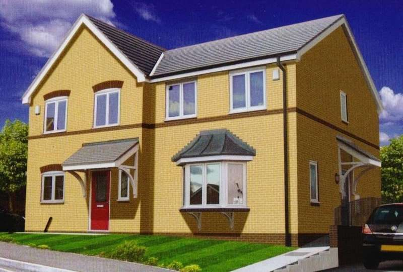 3 Bedrooms Semi Detached House for sale in Walnut Court, Stansty Road, Wrexham