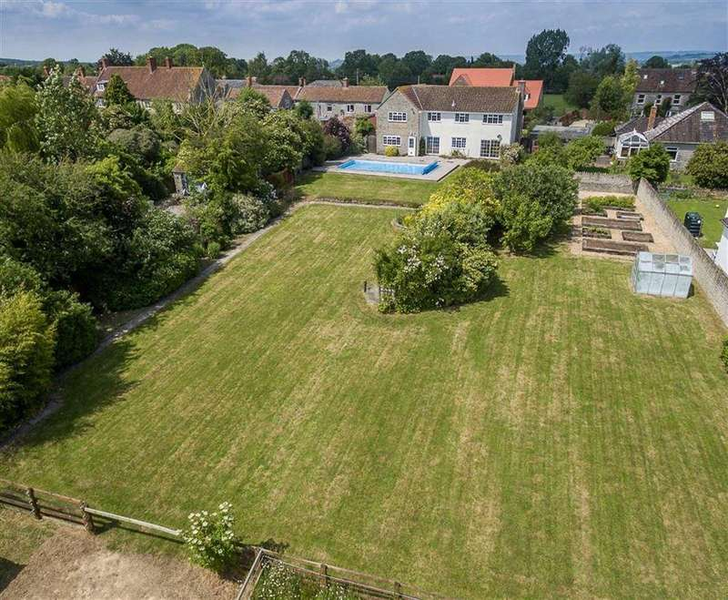 5 Bedrooms Detached House for sale in Castle Street, Keinton Mandeville, Somerton, Somerset, TA11