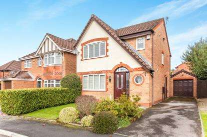 3 Bedrooms Detached House for sale in Inworth Close, Westhoughton, Bolton, Greater Manchester, BL5