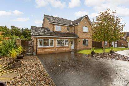4 Bedrooms Detached House for sale in Old Tower Road, Cumbernauld, Glasgow, North Lanarkshire