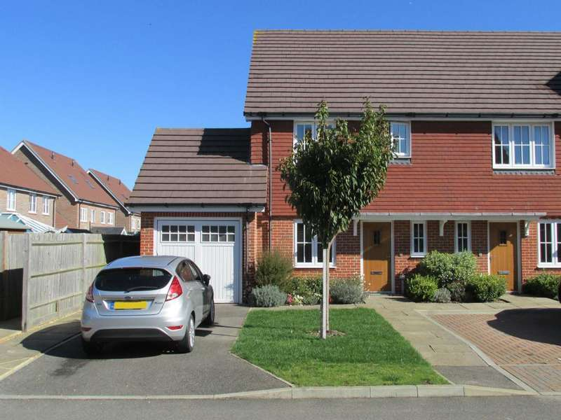3 Bedrooms End Of Terrace House for sale in Ruskin Avenue, Bersted Park, Bognor Regis, West Sussex, PO21 5BW