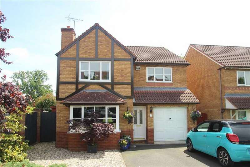 4 Bedrooms Detached House for sale in Ballard Close, Ludlow