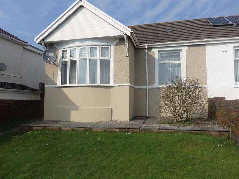 2 Bedrooms Semi Detached Bungalow for sale in Caswell Street, Llanelli