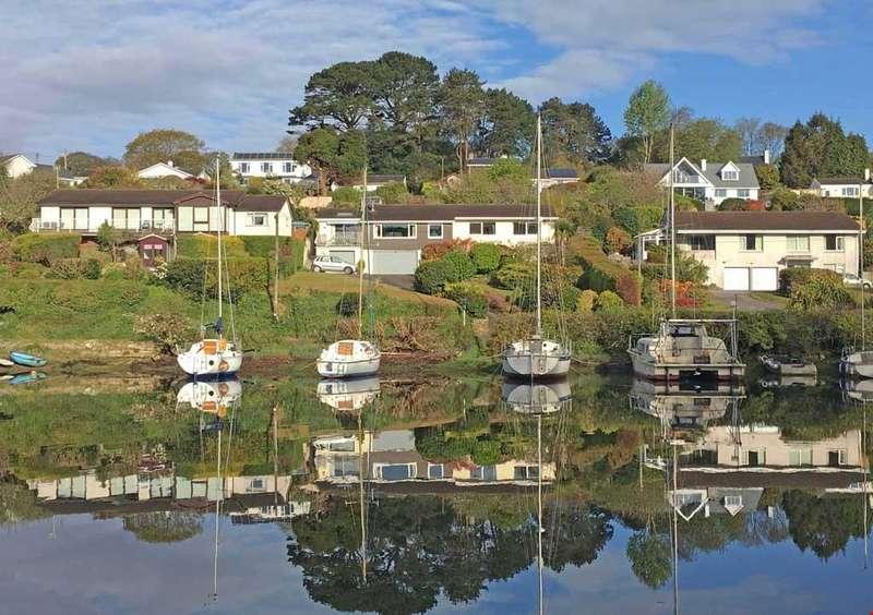 5 Bedrooms Detached House for sale in Penpol, Devoran, Nr. Truro, South Cornwall, TR3