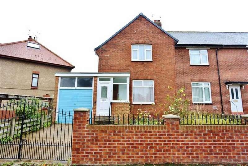 2 Bedrooms Semi Detached House for sale in Falmouth Road, Ford Estate, Sunderland, SR4