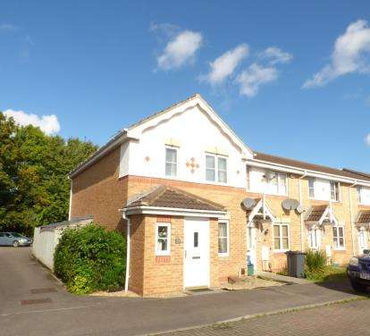3 Bedrooms End Of Terrace House for sale in Bishops Castle Way, Tredworth, Gloucester, Gloucestershire