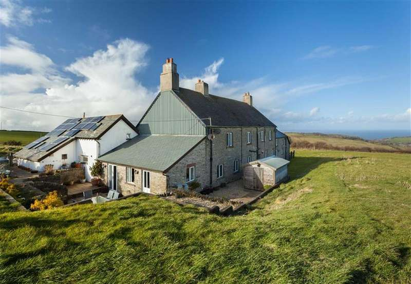 8 Bedrooms Detached House for sale in Woolscott Barton, Oxenpark Lane, Berrynarbor, Devon, EX34
