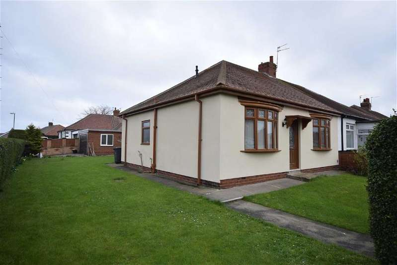 2 Bedrooms Semi Detached Bungalow for sale in Fairholme Avenue, South Shields