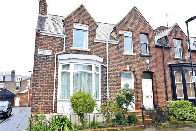 3 Bedrooms Terraced House for sale in Shakespeare Terrace, Thornhill, Sunderland, SR2