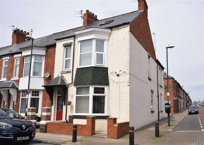4 Bedrooms End Of Terrace House for sale in Oxford Avenue, South Shields