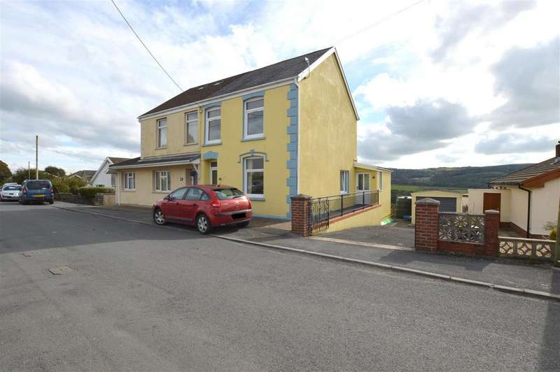 3 Bedrooms Semi Detached House for sale in Greenfield Terrace, Pontyberem, Llanelli