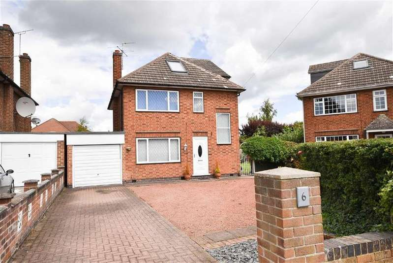 4 Bedrooms Detached House for sale in Whitfield Close, Wilford