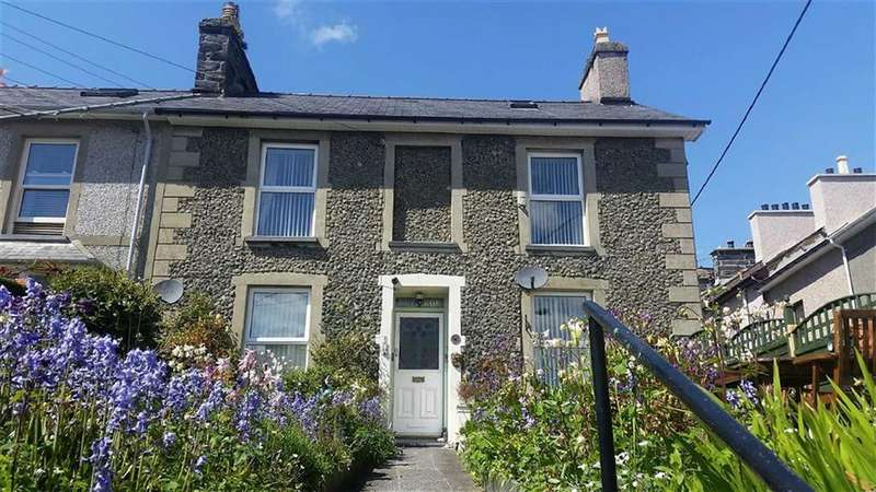 4 Bedrooms End Of Terrace House for sale in Osmond Terrace, Porthmadog