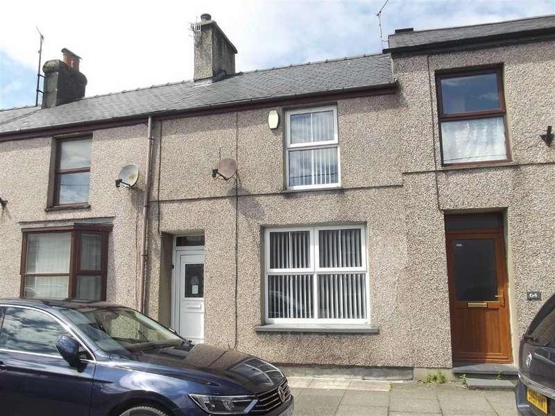 2 Bedrooms Terraced House for sale in Chapel Street, Porthmadog, Gwynedd