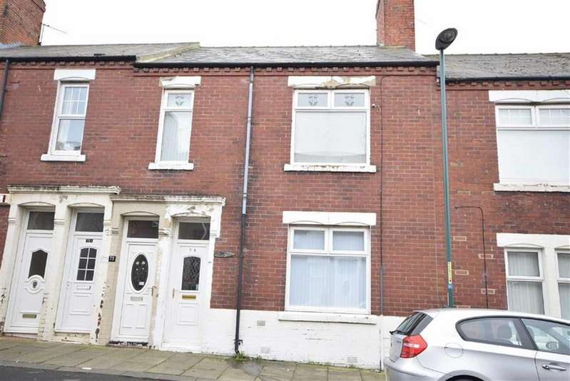 2 Bedrooms Flat for sale in Bewick Street, South Shields