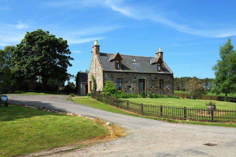 3 Bedrooms Detached House for sale in Catherinebraes Farm, Craigellachie, Aberlour, Moray, AB38