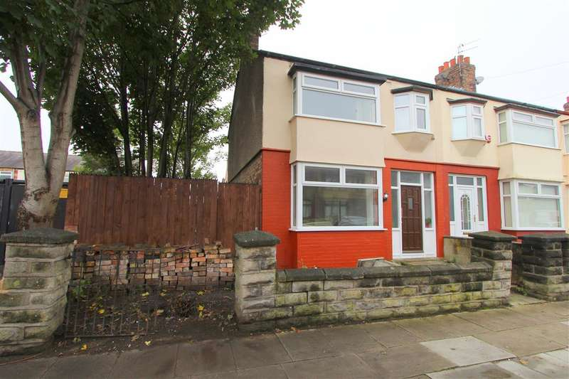 3 Bedrooms End Of Terrace House for sale in Dundale Road, Old Swan, Liverpool