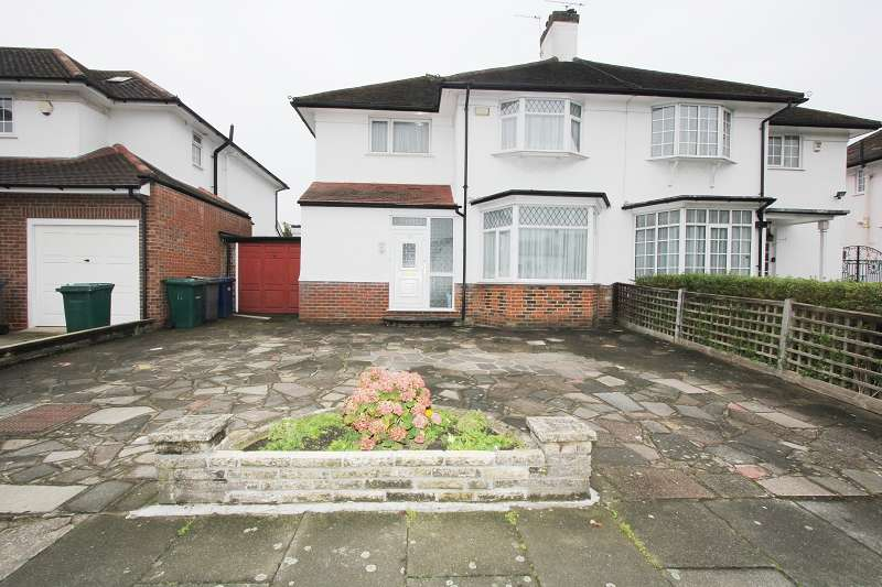 3 Bedrooms Semi Detached House for sale in Glendale Avenue, Edgware, Greater London. HA8 8HF