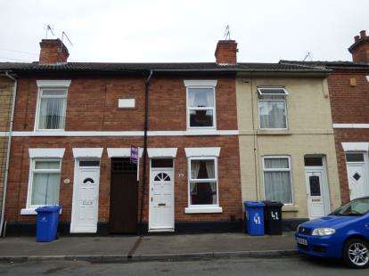 2 Bedrooms Terraced House for sale in Haig Street, Alvaston, Derby, Derbyshire