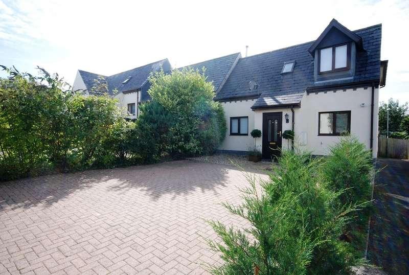 3 Bedrooms End Of Terrace House for sale in Primrose Close, Cowbridge, Vale of Glamorgan, CF71 7DZ