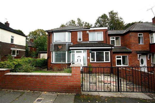 4 Bedrooms Detached House for sale in Agecroft Road West, Prestwich